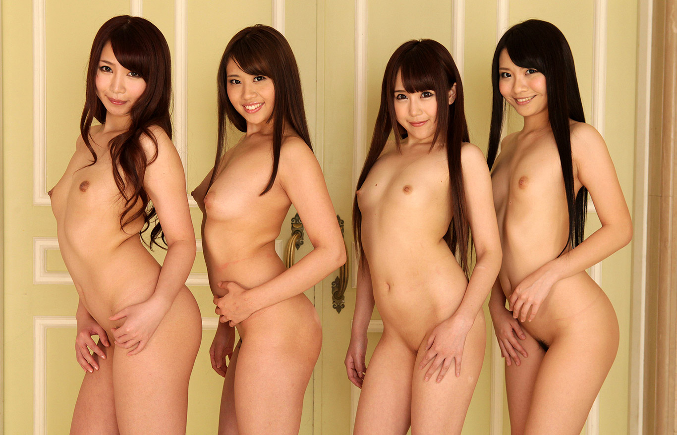 girls naked in the world